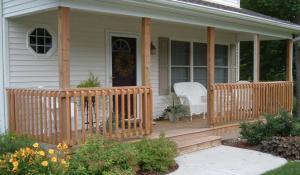 Aunt Vera's Porch Original image found here.