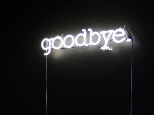 Goodbye art credit to Michael Phelan Art