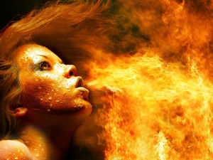 Fire_Woman_Wallpaper