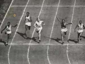100 metres final, London, 1948, National Media Museum